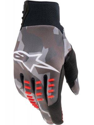 Ръкавици SMX-E GLOVES GRAY CAMO RED FLUO ALPINESTARS