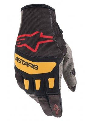 Ръкавици TECHSTAR GLOVES BLACK BR RED ORANGE ALPINESTARS
