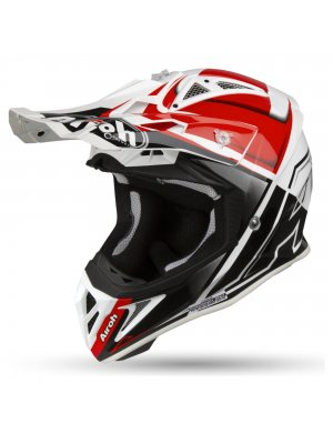 AIROH AVIATOR 2.2 CHECK RED GLOSS