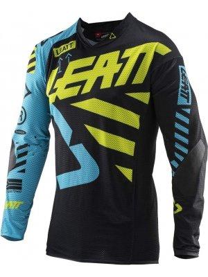 Блуза Leatt GPX 5.5 Ultraweld Jersey Black/Lime