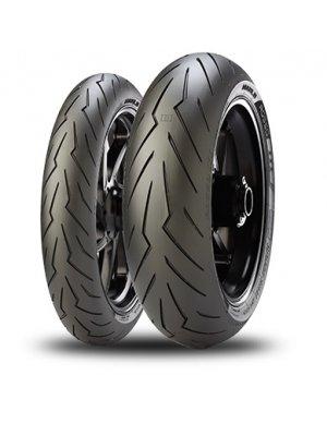 Pirelli Diablo Rosso III 120/70 ZR 17 M/C (58W) TL