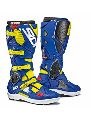 SIDI CROSSFIRE 3 SRS YELLOW FLUO / BLUE