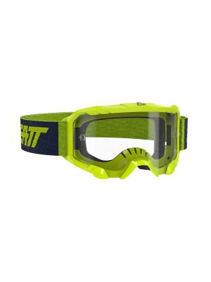 LEATT GOGGLE VELOCITY 4.5 NEON LIME CLEAR 83%