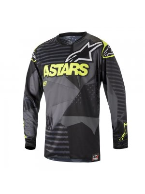 Блуза ALPINESTARS RACER TACTICAL BLACK/YELLOW