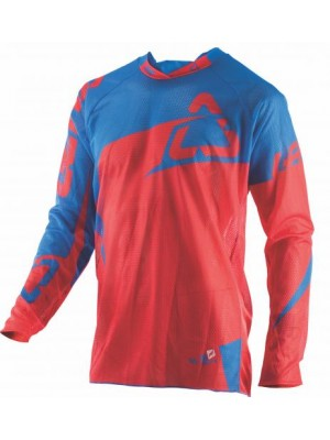 Блуза Leatt GPX 4.5 X-FLOW Jersey  Red