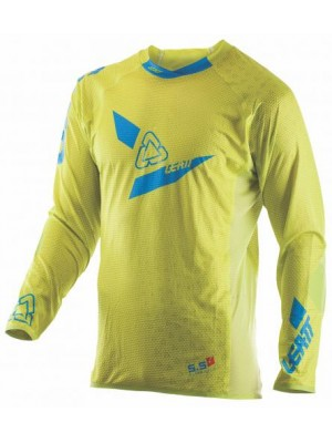 Блуза Leatt GPX 5.5 Ultraweld Jersey Yellow