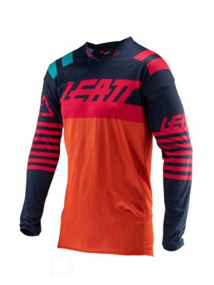 Блуза Leatt GPX 4.5 X-FLOW Jersey Orange/Black