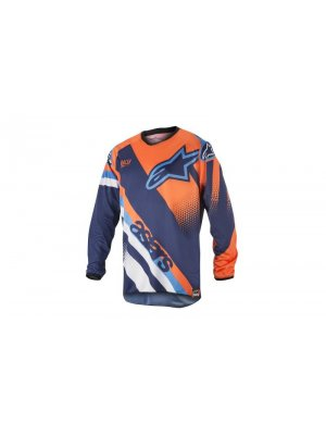 Блуза Alpinestars Racer Supermatic Blue/Orange Jersey