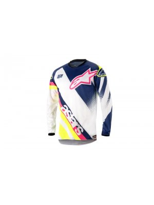Блуза Alpinestars Racer Supermatic Blue/White Jersey