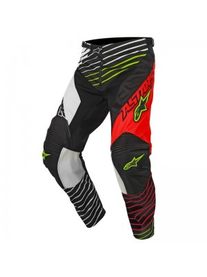 Панталон ALPINESTARS RACER BRAAP BLACK/WHITE/RED