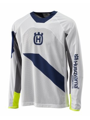 Блуза HUSQVARNA RAILED JERSEY WHITE