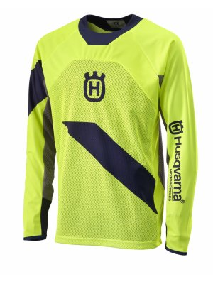 Блуза HUSQVARNA RAILED JERSEY YELLOW