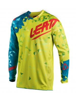 Блуза Leatt GPX 4.5 LITE 18 Lime/Teal