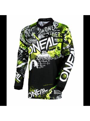 Блуза O'NEAL ELEMENT ATTACK BLACK/HI-VIZ
