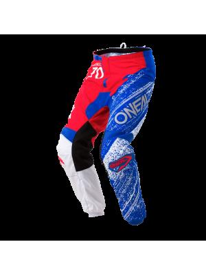 Панталон O'NEAL ELEMENT BURNOUT RED/WHITE/BLUE 2018