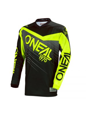 Блуза O'NEAL ELEMENT RACEWEAR BLACK/HI-VIZ 2018