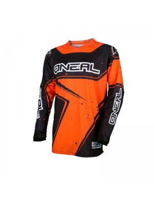 Блуза O'NEAL ELEMENT RACEWEAR BLACK/ORANGE
