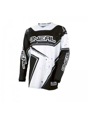 Блуза O'NEAL ELEMENT RACEWEAR BLACK/WHITE