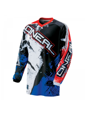 Блуза O'NEAL ELEMENT SHOCKER BLACK/BLUE/RED