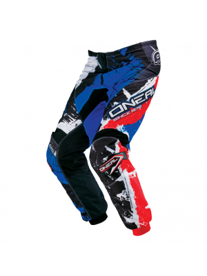 Панталон O'NEAL ELEMENT SHOCKER BLACK/BLUE/RED