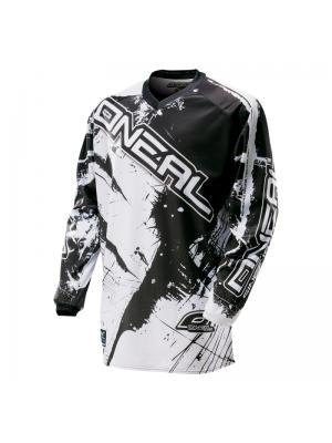 Блуза O'NEAL ELEMENT SHOCKER BLACK WHITE