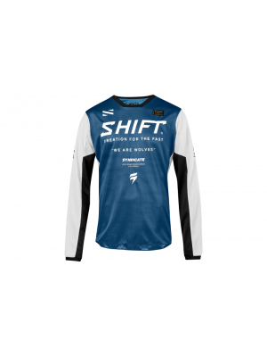 Блуза SHIFT WHIT3 MUSE JERSEY BLUE