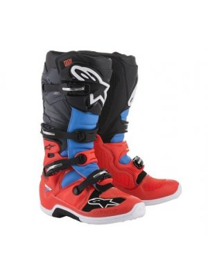БОТУШИ ALPINESTARS MX TECH 7 Black Red Blue