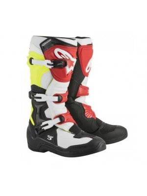 БОТУШИ ALPINESTARS MX TECH 3 Black White Yellow