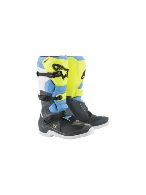 БОТУШИ ALPINESTARS MX TECH 3 BLUE/YELLOW