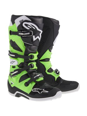 БОТУШИ ALPINESTARS MX TECH 7 Black Green
