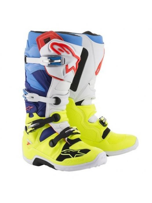 БОТУШИ ALPINESTARS MX TECH 7 Blue Yellow