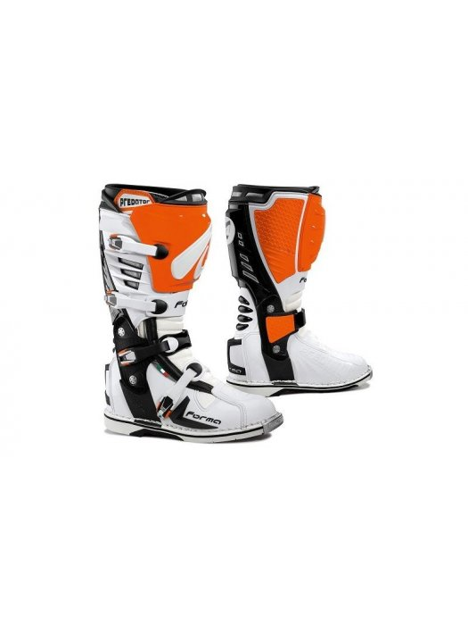 Ботуши Forma Predator White/Orange Boots