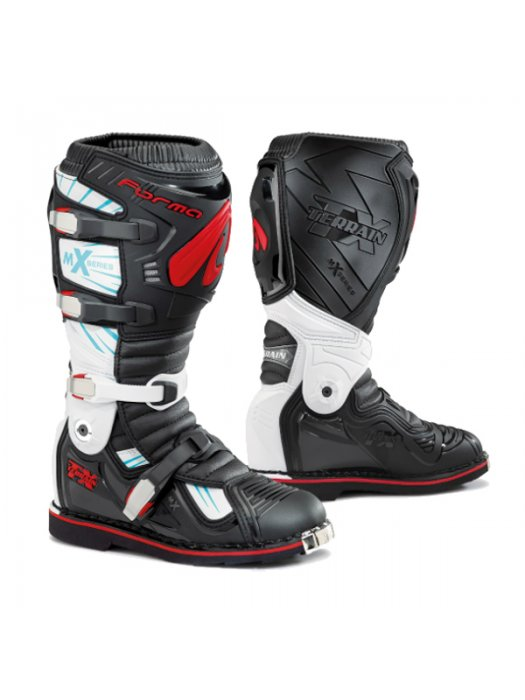 Ботуши Forma Terrain TX Black/Red Boots