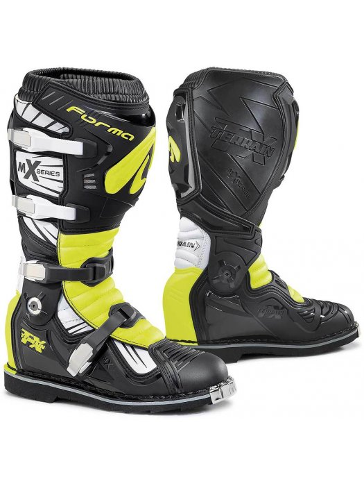 Ботуши Forma Terrain TX Black/Yellow Boots