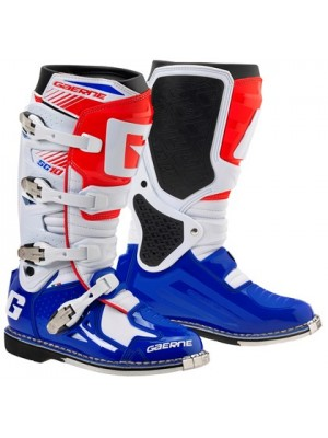 Ботуши Gaerne SG 10 2016 White Blue Red