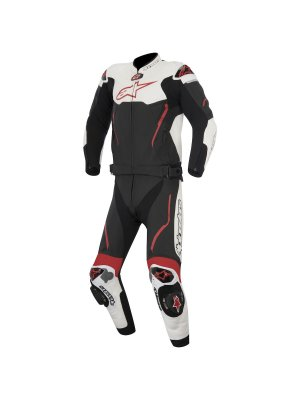 Alpinestars Atem Leather Suit 2PC White