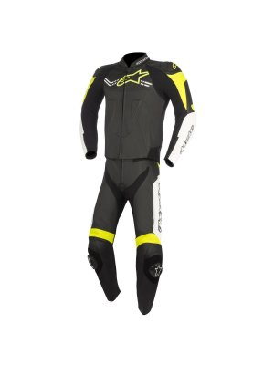 Alpinestars Challenger V2 Leather Suit 2PC Yellow