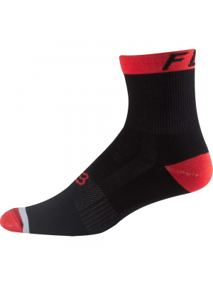 "Чорапи Fox Logo Trail Socks 6"" Red"