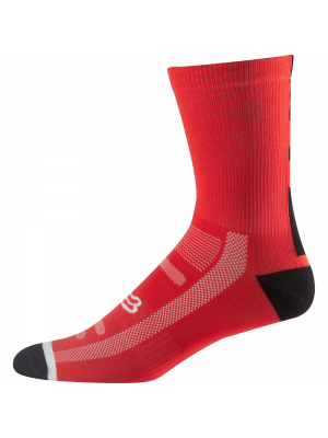 "Чорапи Fox Logo Trail Socks 8"" Red"