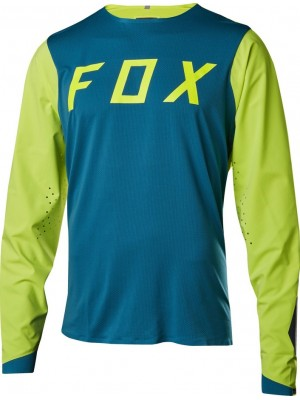 Джърси Fox Attack Pro Jersey Blue