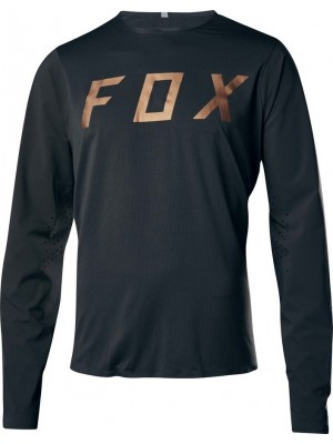 Джърси Fox Attack Pro Jersey Black