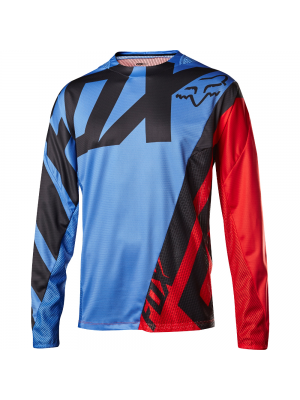 Джърси Fox Demo LS Blue/Red Jersey