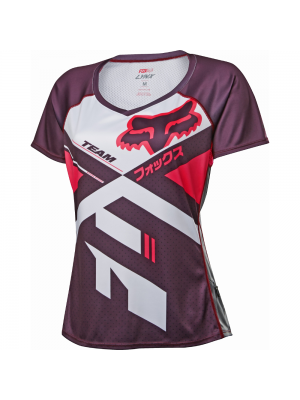 Джърси Fox Women's Lynx Jersey Plum