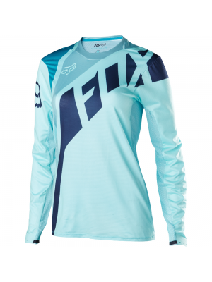 Джърси Fox Womens Flexair Seca Blue Jersey