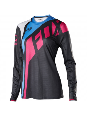 Джърси Fox Womens Flexair Seca Fuchsia Jersey