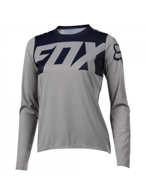 Джърси Fox Womens Ripley LS Grey Jersey