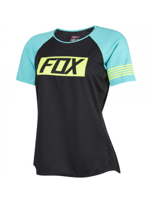 Джърси Fox Womens Ripley SS Black Jersey
