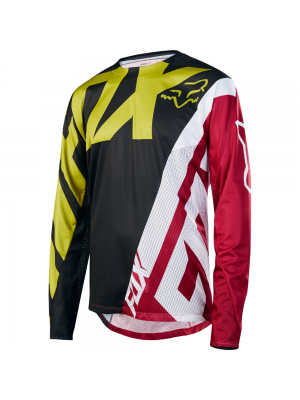 Джърси Fox Demo LS Yellow/Black Jersey
