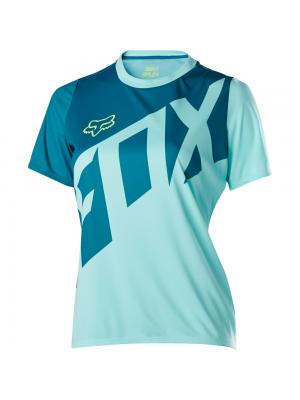 Джърси Fox Womens Ripley SS Jersey Blue