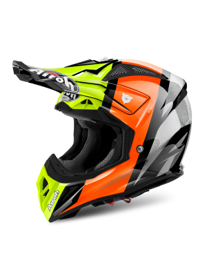 AIROH AVIATOR 2.2 REVOLVE ORANGE GLOSS